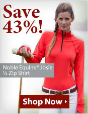 Noble Equine® Josie ¼ Zip Shirt