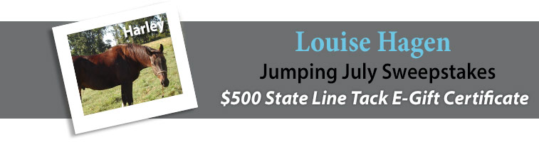Statelinetack.com's Jumping July Sweepstakes Winner