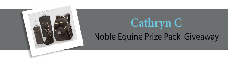 Statelinetack.com's Noble Equine Prize Pack Giveaway Winner