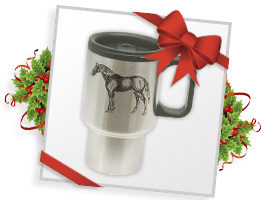 Stainless Steel Travel Mug!