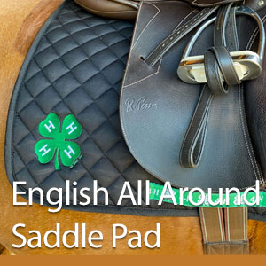 English All Around Saddle Pad