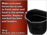 Replace your buckets and feeders
